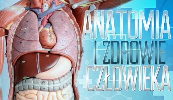 Anatomia i zdrowie człowieka. Poradzisz sobie z tym testem?