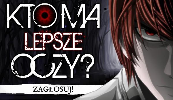 Kto ma lepsze oczy? Wersja Anime!
