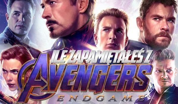 """Ile zapamiętałeś z """"Avengers: Koniec gry""""?"""