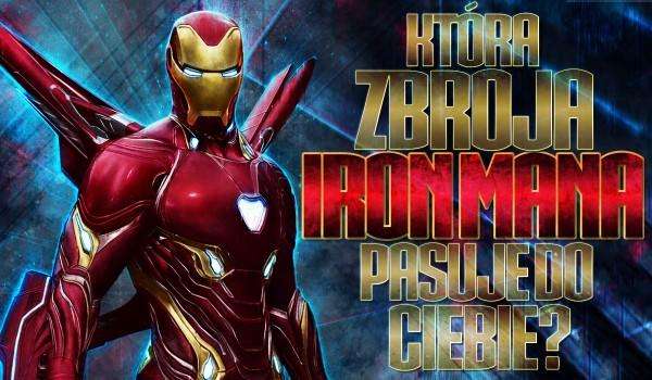 Który strój Iron Mana do Ciebie pasuje?