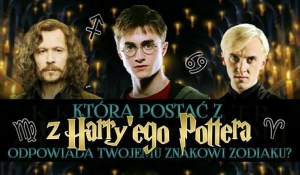 """Która postać z """"Harry'ego Pottera"""" odpowiada Twojemu znakowi zodiaku?"""