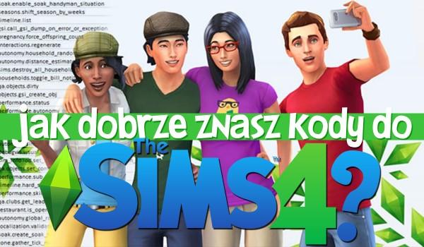 Jak dobrze znasz kody do The Sims 4?