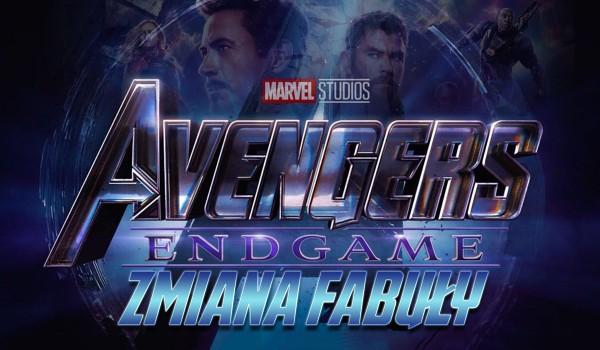 Zmiana fabuły: Avengers Endgame