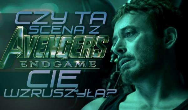 """Czy ta scena z """"Avengers: Koniec gry"""" Cię wzruszyła?"""