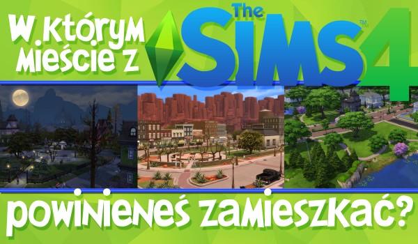 W jakim simowym mieście powinieneś zamieszkać?