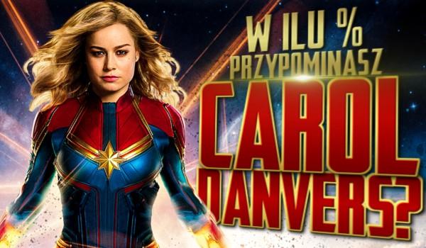 W ilu % przypominasz Carol Danvers?