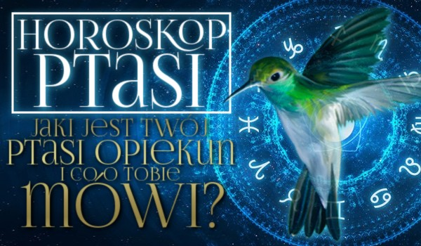 Horoskop ptasi. Kto jest Twoim ptasim opiekunem i co o Tobie mówi?