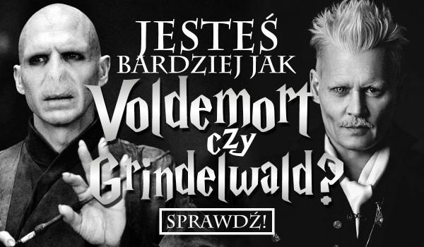 Jesteś jak Voldemort czy Grindelwald?