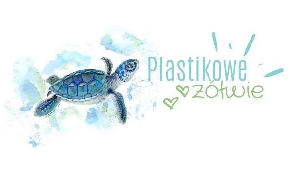Plastikowe żółwie