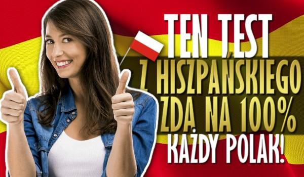 randki hiszpańskie