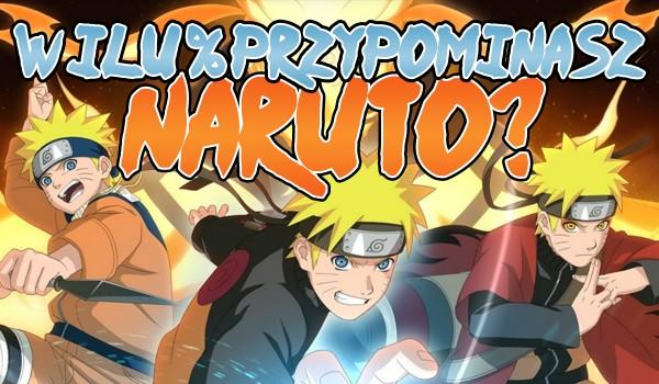 W ilu % jesteś jak Naruto Uzumaki?