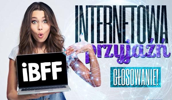 Wielkie głosowanie na temat Internetowej Przyjaźni!
