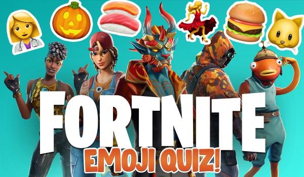 Fortnite – quiz emoji!