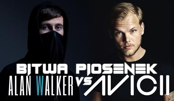 Bitwa piosenek – Alan Walker vs. Avicii