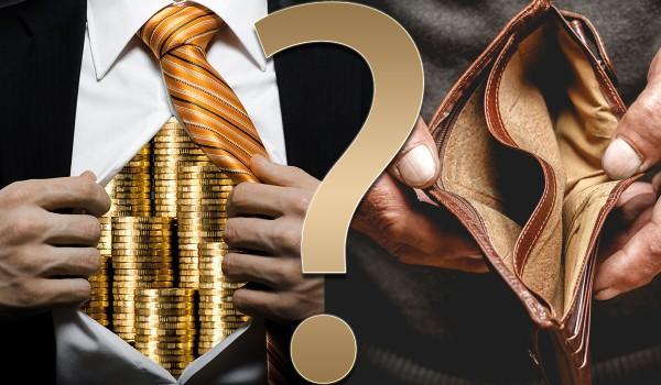 Bogaty vs. biedny – co byś wolał?