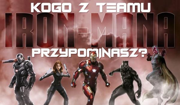 Kogo z Teamu Iron-Man przypominasz?
