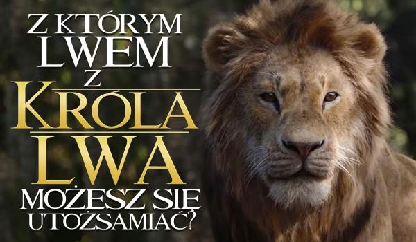 """Z którym lwem z """"Króla lwa"""" możesz się utożsamiać?"""