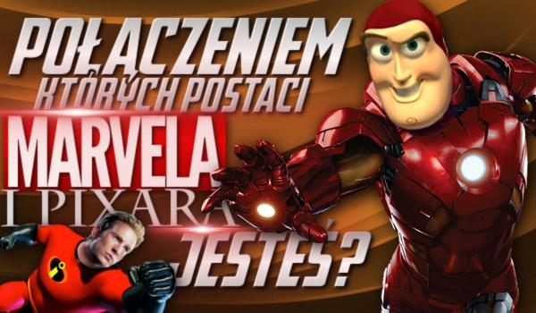 """Połączeniem których postaci z """"Marvela"""" i """"Pixara"""" jesteś?"""