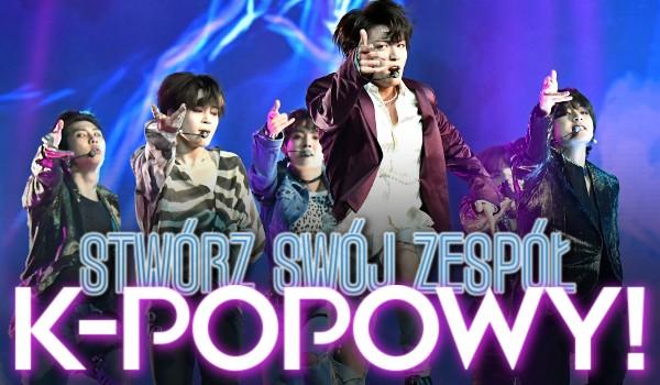 Stwórz swój k-popowy zespół!