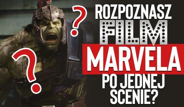 Czy potrafisz rozpoznać film Marvela po jednej scenie?