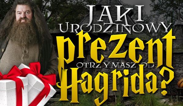 Jaki urodzinowy prezent otrzymasz od Rubeusa Hagrida?