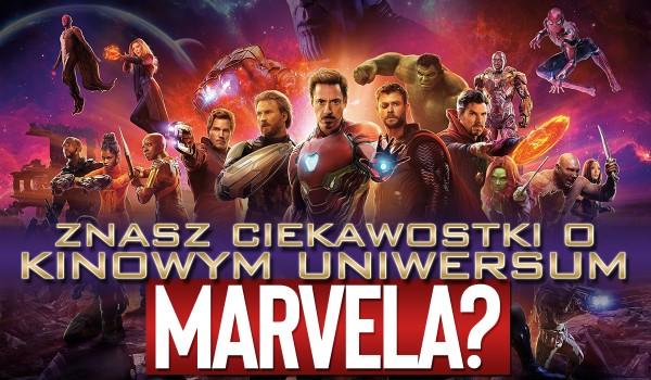 """Czy znasz te zaskakujące ciekawostki o kinowym uniwersum """"Marvela""""?"""