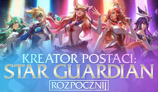 Kreator postaci – edycja Star Guardian!