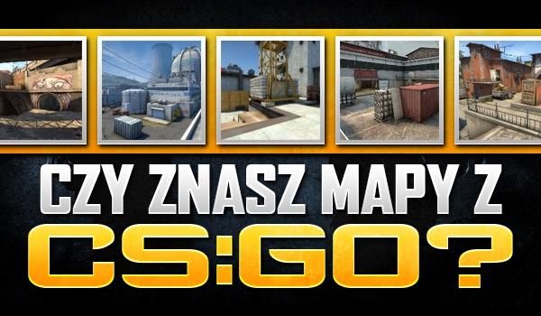 """Czy znasz mapy z """"CS:GO""""?"""