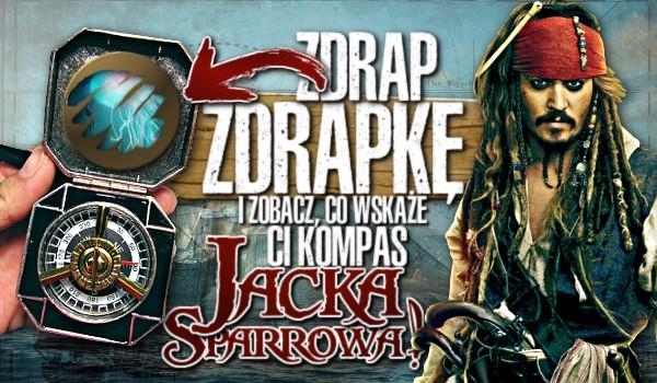 Zdrap zdrapkę i zobacz, co wskaże Ci kompas Jacka Sparrowa!