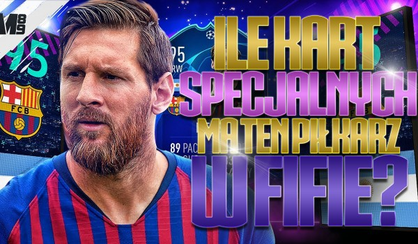 """Ile ten piłkarz ma kart specjalnych w danej """"FIFIE""""?"""