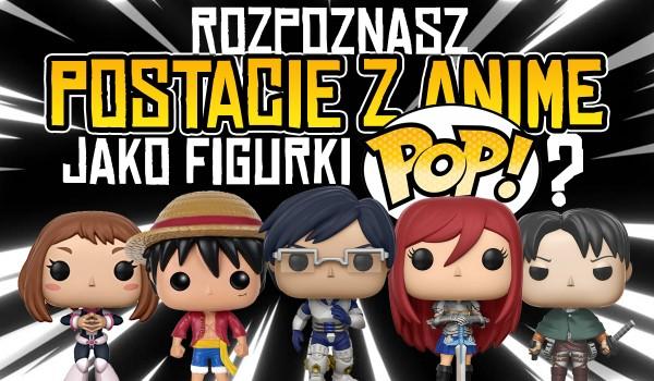 """Czy rozpoznasz postacie z anime w wersji """"Funko Pop""""?"""