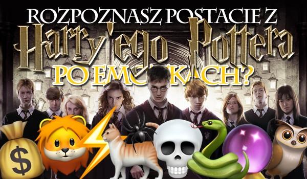 """Czy rozpoznasz postacie z """"Harry'ego Pottera"""" po emotkach?"""