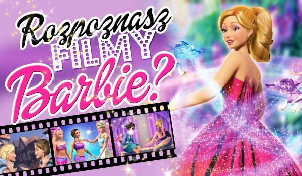 Czy uda Ci się rozpoznać wszystkie filmy z Barbie?