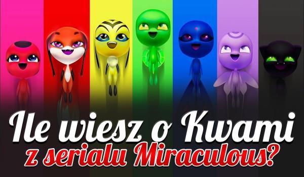 Ile wiesz o Kwami z serialu Miraculous?