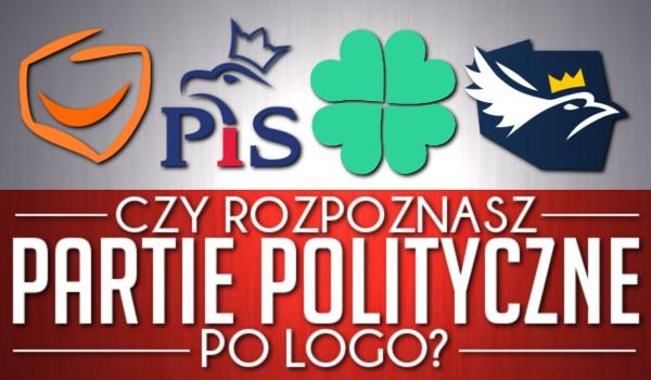 Czy rozpoznasz partie polityczne po logo?