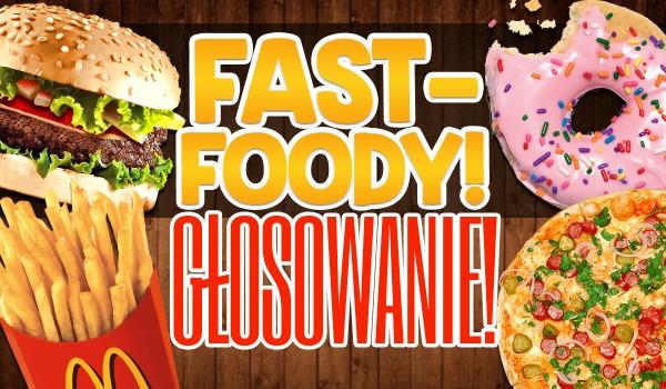 Fast foody! – Głosowanie