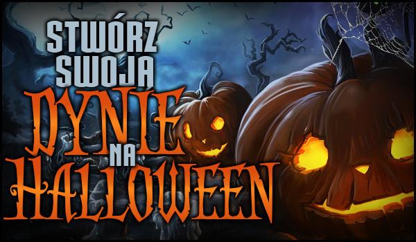 Stwórz swoją dynię na Halloween!