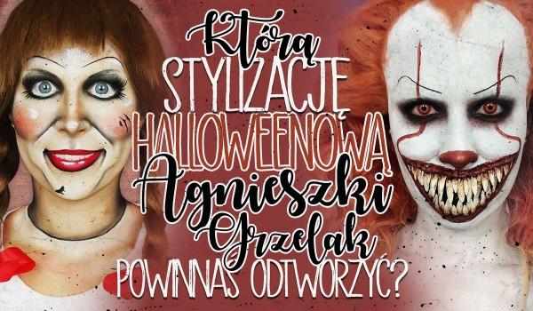 Którą charakteryzację Agnieszki Grzelak powinnaś odtworzyć w Halloween?