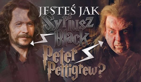 Przypominasz bardziej Syriusza Blacka czy Petera Pettigrew?