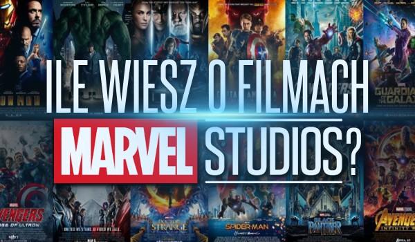 """Ile wiesz o filmach """"Marvel Studios""""?"""