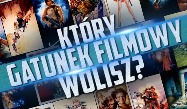 Który gatunek filmowy wolisz? Głosowanie!