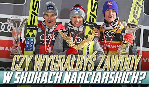 Czy wygrałbyś zawody w skokach narciarskich?
