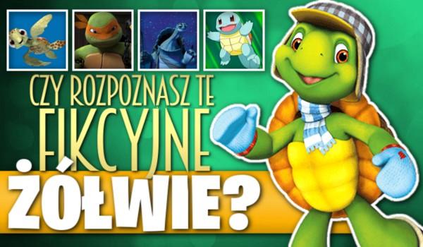 Czy rozpoznasz te fikcyjne żółwie?