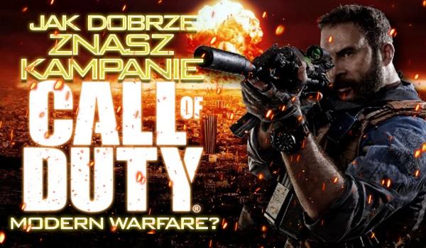"""Jak dobrze znasz kampanię """"Call of Duty 4: Modern Warfare""""?"""