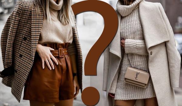 Który outfit wolisz? EDYCJA JESIENNA