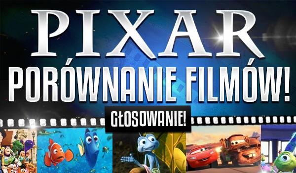 """Porównanie filmów """"Pixara"""" – głosowanie!"""