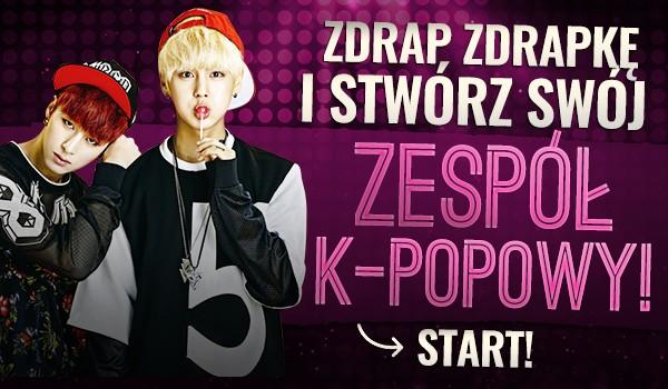 Zdrap zdrapkę i stwórz swój zespół k-popowy!