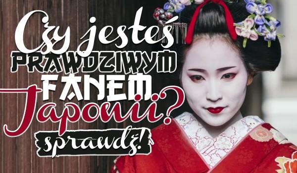 Test: Ile wiesz o Japonii?