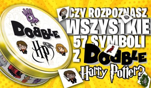 Czy rozpoznasz wszystkie 57 symboli z Dobble – Harry Potter?
