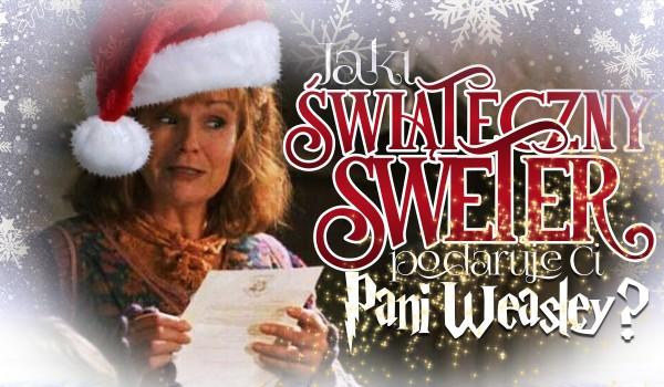 Jaki świąteczny sweter podaruje Ci pani Weasley?